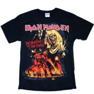 Iron Maiden   Number Of The Beast T Shirt Clothing