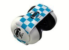 Ems 4 Bubs Baby Earmuffs (Blue & White Headband