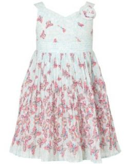 Monsoon Baby girl Baby Frederica Butterfly Print Dress