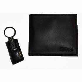 Mens Kenneth Cole Reaction Passcase Wallet & Key Chain