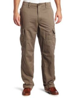 Nautica Mens Cotton Twill Cargo Pant, Baltic Brown