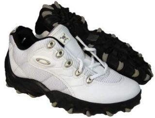 OAKLEY Teeth Mens White Leather Hiking Shoes SZ 14 Shoes