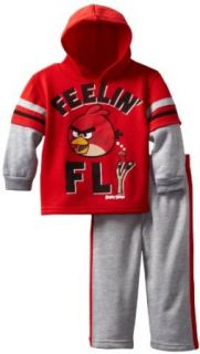 Angry Birds Boys 2 7 Toddler Fly Birdy 2 Piece Hoodie Set
