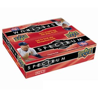 2008 Upper Deck Spectrum Baseball Trading Cards