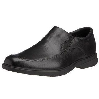 Rockport Mens Aderner Mov Toe Slip On,Black,7 W Shoes
