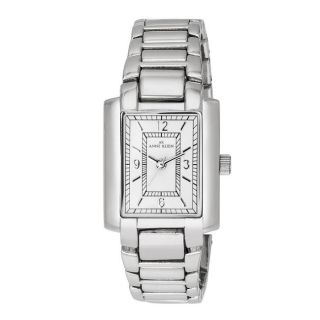 Anne Klein Womens Silvertone Dress Watch