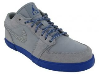NIKE AIR JORDAN RETRO V.1 CASUAL SHOES 14 (STEALTH/OLD ROYAL) Shoes