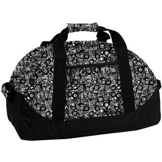 World Lawrence Marble Grey 21 inch Carry On Duffel Bag