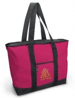 ASU Logo Pink Tote Bag Arizona State University   For