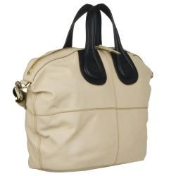 Givenchy Nightingale Medium Colorblock Leather Shopper Bag
