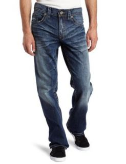 Silver Jeans Mens Gordie Straight Leg Jean, Medium Blue