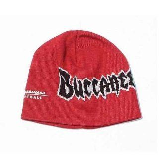 Tampa Bay Buccaneers Script NFL Equipment Beanie Hat Cap