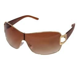 Kenneth Cole Reaction Womens KC1090 Shield Wrap Sunglasses