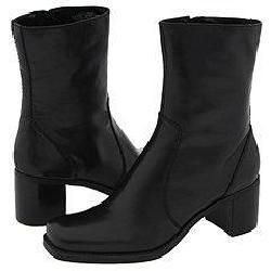 Bandolino Novembre Black Leather Boots