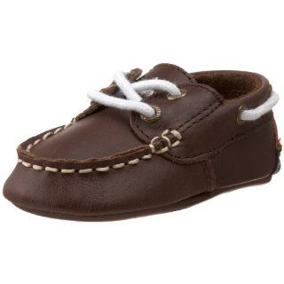 Layette Seaside Boat Shoe (Infant/Toddler),Brown,4 M US Toddler Shoes