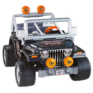 Fisher Price Power Wheels Tough Talking Jeep Ride on