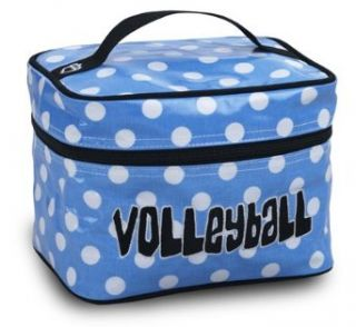 Katz Cosmetic Case Volleyball Blue/White Dot Clothing