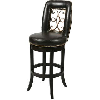 Wedgewood 26 inch Wood Swivel Counter Stool
