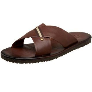 Steve Madden Mens Coaster Sandal,Brown,12 M Shoes