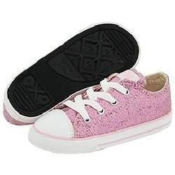 Converse Kids All Star Sparkle Ox (Infant/Toddler) Pink Athletic