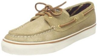 com Sperry Top Sider Womens Bahama Sparkle Loafer,Gold,9 M US Shoes