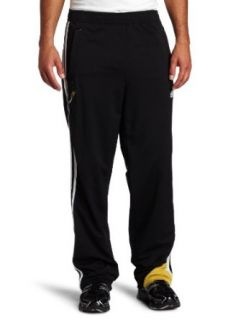 adidas Mens adiPURE Track Pant (Black, Light Old Gold