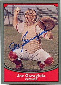 Joe Garagiola Autographed/Signed 1990 Pacific Trading Card