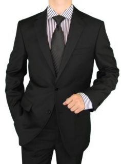 Salvatore Exte Wool Feel Mens Suit 2 Button Jacket Flat