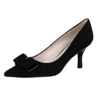 AK Anne Klein Womens Haleigh Black Heels