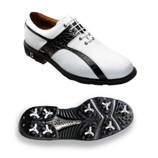 FootJoy Mens Icon White/ Black Golf Shoes Today $129.99