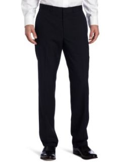 Kenneth Cole Reaction Mens Navy Stripe Suit Separate Pant