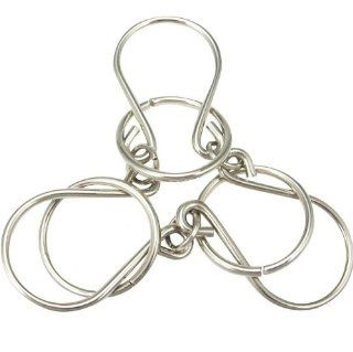 Chained Rings Wire Metal Puzzle Toys & Games