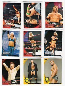 2010 Topps WWE Wrestling Trading Card Set  110 Card Hand