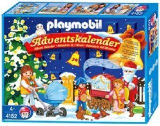 Playmobil Advent Calendar X Christmas in the Park Toys