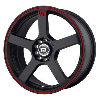 Motegi MR116 18x8 Black Wheel / Rim 5x105 & 5x4.5 with a 45mm Offset