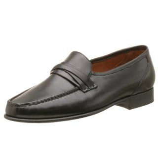 Allen Edmonds Mens Bergamo Loafer,Black,7 E Shoes