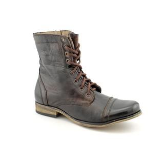 Steve Madden Mens Troopah Leather Boots