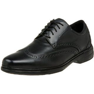Rockport Mens Mendillo Wingtip Oxford,Black,9.5 M Shoes