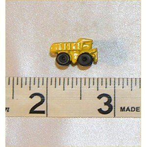 Dollhouse TOY DUMP TRUCK, YELLOW Toys & Games