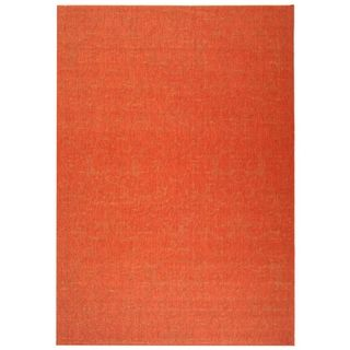 Safavieh Courtyard Red/ Red Indoor Outdoor Rug
