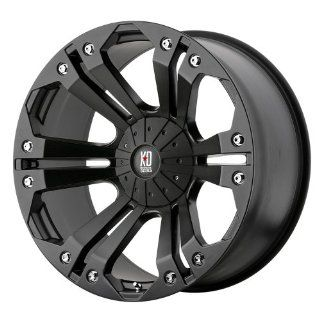 XD Series Monster XD778 Matte Black Wheel (20x9/6x135mm)