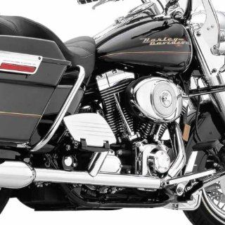 Cobra True Dual Chrome Head Pipes for 1995 2006 Harley Davidson FL