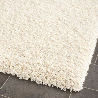 Safavieh Shag Collection SG151 1212 Ivory Shag Area Rug, 4