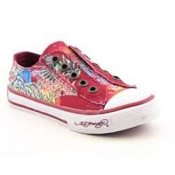 Ed Hardy Kids 11FJP108K Jupitar Lowrise Youth Kids Girls Red Athletic