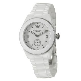Emporio Armani Womens Ceramica Ceramic Quartz Watch