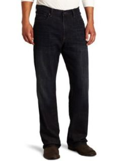 Lucky Brand Mens 181 Relaxed Straight Leg Jean in Ol Night