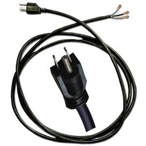 Superior Electric EC183 9 Foot 18/3 Power Cord for Power Tools