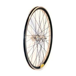 Velocity Deep V Road Wheel Set   Black 700C Rim NMSW