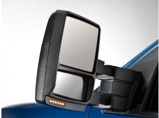 Ford F 150 Trailer Tow Mirror Power, Heat/Puddle/Turn Signal, Black