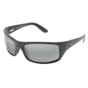 Peahi Sunglasses Gloss Black/Neutral Gray 202 02